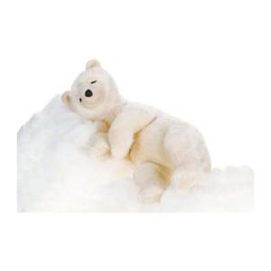 BEAR SLEEPG CRÈME 28''L Plush Toy