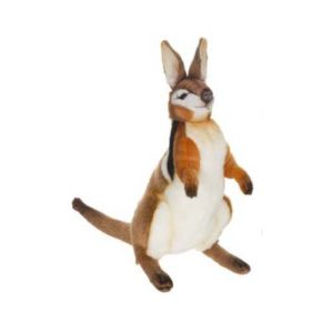 Life-size and realistic plush animals.  5172 - WALLABY 14''