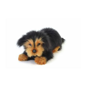 "Dachshund (Long haired Waldi) 13.7""L Plush Toy"