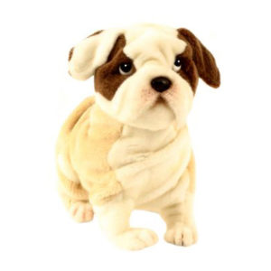 "BULLDOG 11""L Plush Toy"