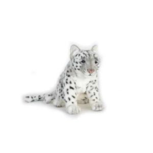 SNOW LEOPARD 15''L Plush Toy