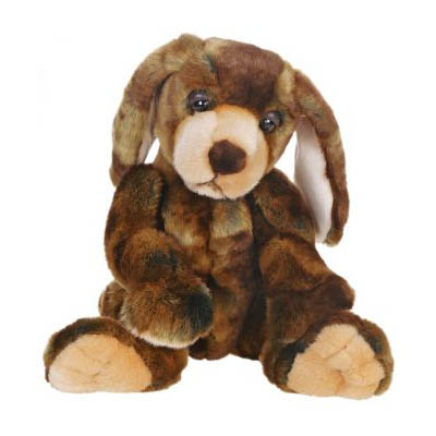 Life-size and realistic plush animals.  5499 - WOW WOW HOUND WMSY12''