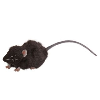 Life-size and realistic plush animals.  5578 - MICE