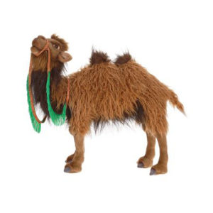Life-size and realistic plush animals.  5585 - CAMEL BACTRIAN 2HUMP 19'' L