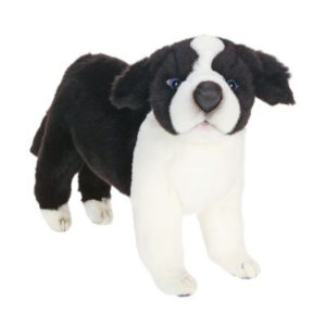 BORDER COLLIE PUPPY 10'' Plush Toy