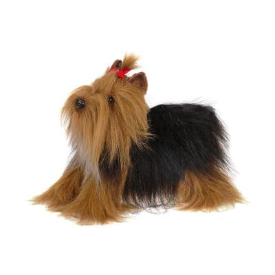 Life-size and realistic plush animals.  5909 - YORKSHIRE TERRIER 14''L