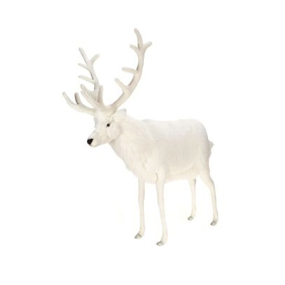 Life-size and realistic plush animals.  5924 - REINDEER
