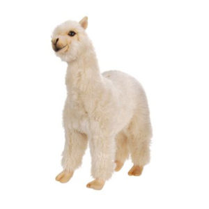 ALPACA 10''L x 14''H Plush Toy