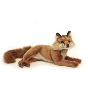 RED FOX LAYING 15.5'' L Plush Toy