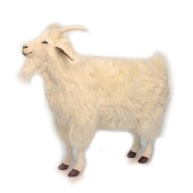 "CASHMERE GOAT 40""L Plush Toy"