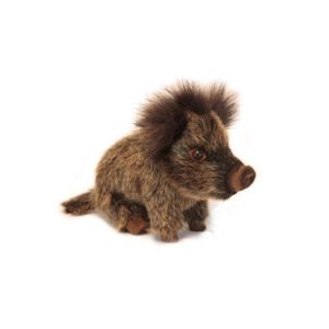 "WILD BOAR BABY SEATED 8.70""L Plush Toy"