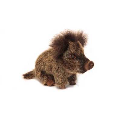 """WILD BOAR BABY SEATED 8.70""""L Plush Toy"""