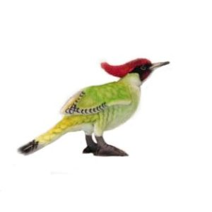 WOODPECKER 9.8''L Plush Toy