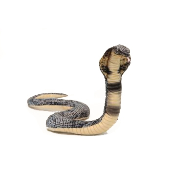 "COBRA   34"" Curled Plush Toy"