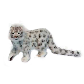 SNOW LEOPARD STANDING(SP) Plush Toy