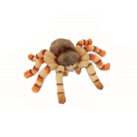 """Life-size and realistic plush animals.  6556 - JUMPING SPIDER 11.5""""W"""