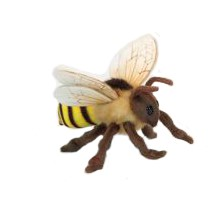 "HONEY BEE  8.7""L Plush Toy"