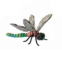 "DRAGONFLY  13.4""L Plush Toy"