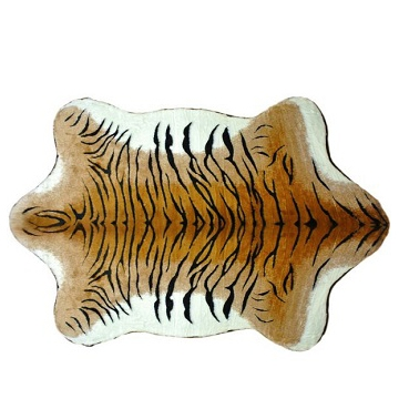 TIGER FLOOR RUG Plush Toy