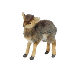 """Life-size and realistic plush animals.  6821 - ANTELOPE  11.7""""H"""