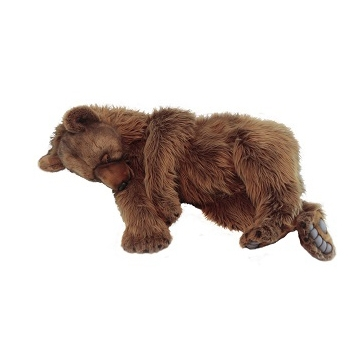 "GRIZZLY BEAR SLEEPING 55""L Plush Toy"