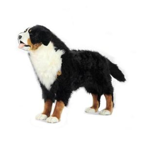 "BERNESE MTN Dog Standg 49""L x 34.5H Plush Toy"