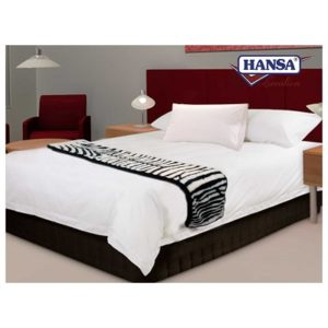 ZEBRA BED RUNNER 74.4''L Plush Toy