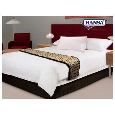 CHEETAH BED RUNNER 74.4''L Plush Toy