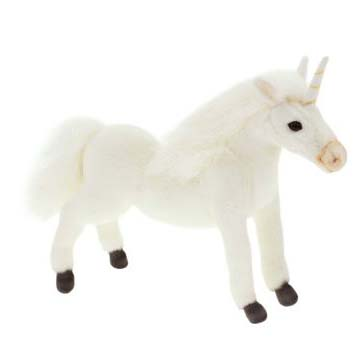 UNICORN 11'' (ALL WHITE) Plush Toy