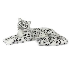 SNOW LEOPARD JAC 63''L Plush Toy