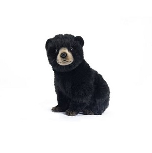 BEAR CUB BLACK 9'' Plush Toy