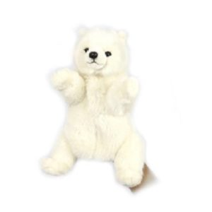 POLAR BEAR PUPPET Plush Toy