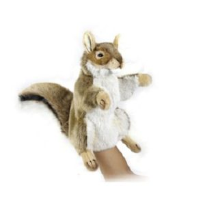 RED SQUIRREL PUPPET Plush Toy