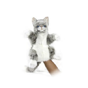 CAT JACQUARD PUPPET Plush Toy