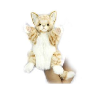 GINGER CAT PUPPET Plush Toy