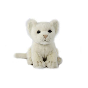 "LION CUB WHITE 6.5""L Plush Toy"