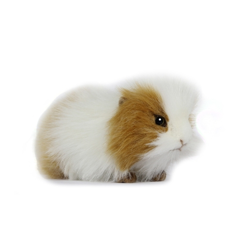 "GUINEA PIG 8""L BRWN/WHITE Plush Toy"