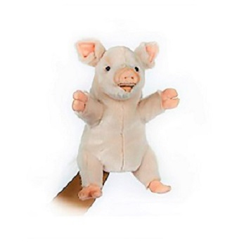 "PIG PUPPET 10"" Plush Toy"