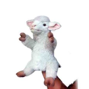 "LAMB PUPPET 10.5"" Plush Toy"