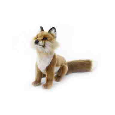 "RED FOX SITTING 19.70""L Plush Toy"