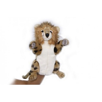 "CHEETAH PUPPET 12.7""H Plush Toy"
