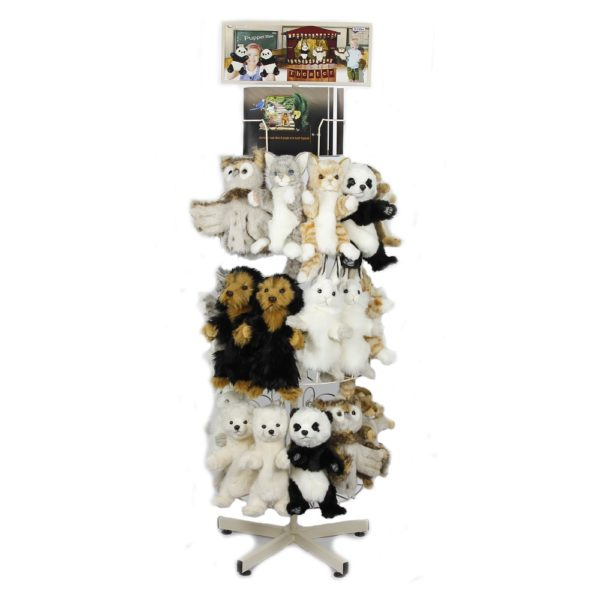 """Life-size and realistic plush animals.  7504 - STUDIO PUPPET STAND ONLY 67""""H"""
