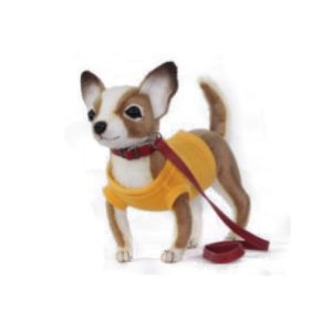 "CHIHUAHUA (YELLOW SHIRT) 9""L Plush Toy"