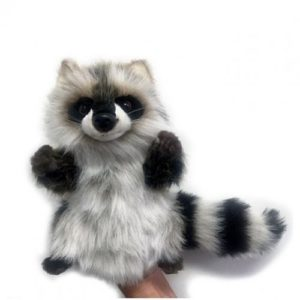 "RACOON PUPPET 10.5"" Plush Toy"