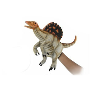 """Life-size and realistic plush animals.  7751 - SPINOSAURUS PUPPET 16""""L"""