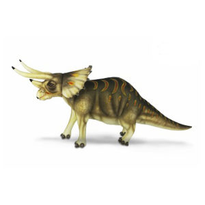 "TRICERATOPS (CREAM) 50""L Plush Toy"