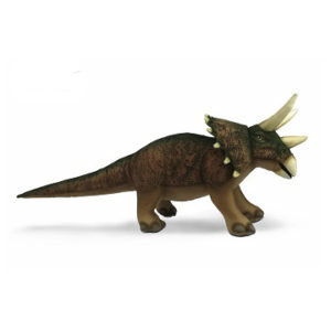 "TRICERATOPS (BROWN) 27""L Plush Toy"