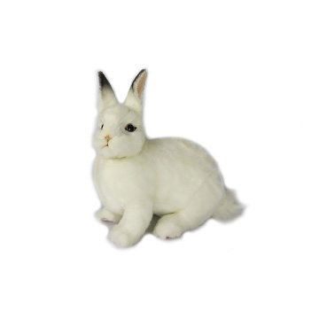 "BUNNY (WHITE) 13""L Plush Toy"