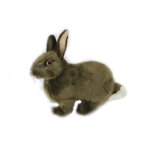 "BUNNY (BROWN) 13""L Plush Toy"