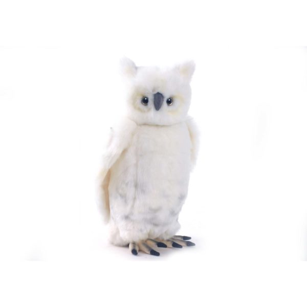 Life-size and realistic plush animals.  3836 - SNOWY OWL